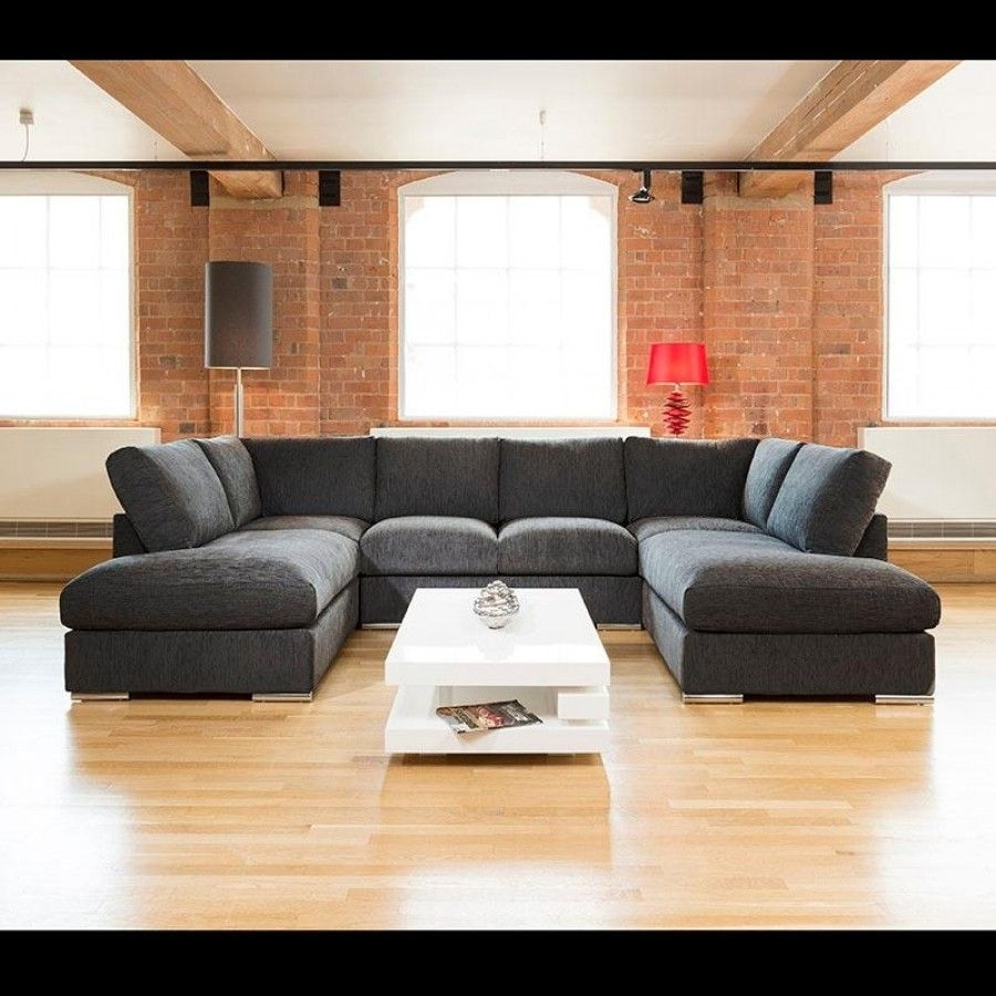 Featured Photo of Large U Shaped Sectionals
