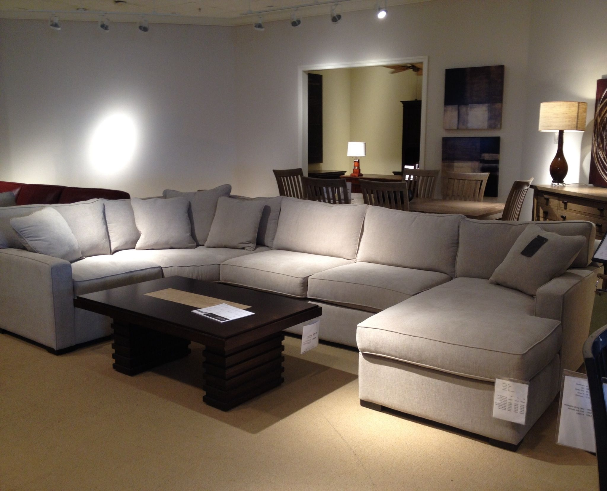Radley 4 Piece Sectional Sofa From Macys. What's Great Is We Can with Kansas City Sectional Sofas (Image 7 of 10)