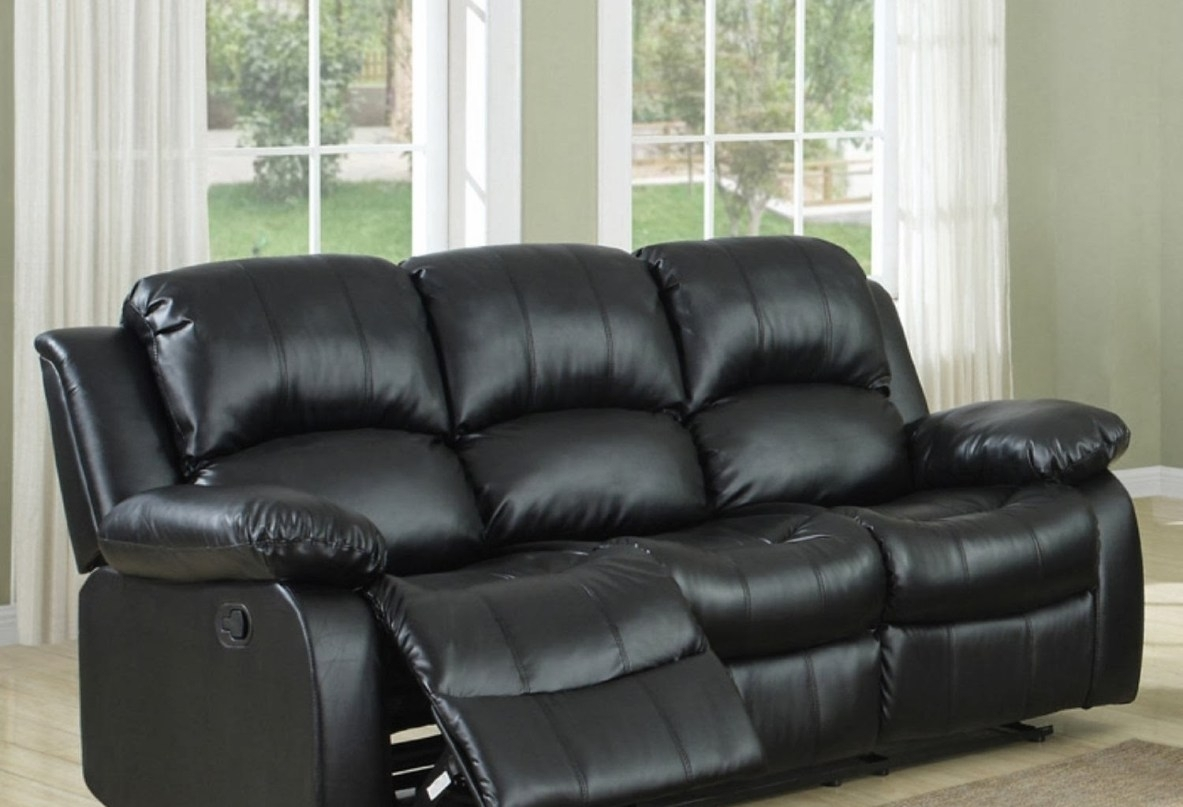 Recliner : Ideal Sectional Sofa With Recliner Leather Hypnotizing inside Sectional Sofas at Bangalore (Image 9 of 15)