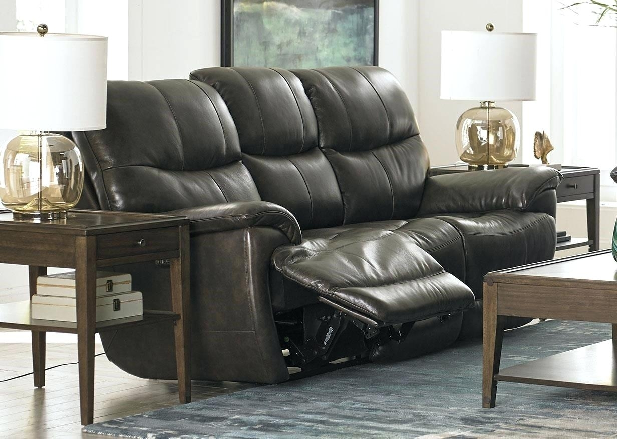 Reclining Sofas Sofa Leather Brown Recliner For Sale In London Kijiji – Within Kijiji London Sectional Sofas (View 4 of 10)