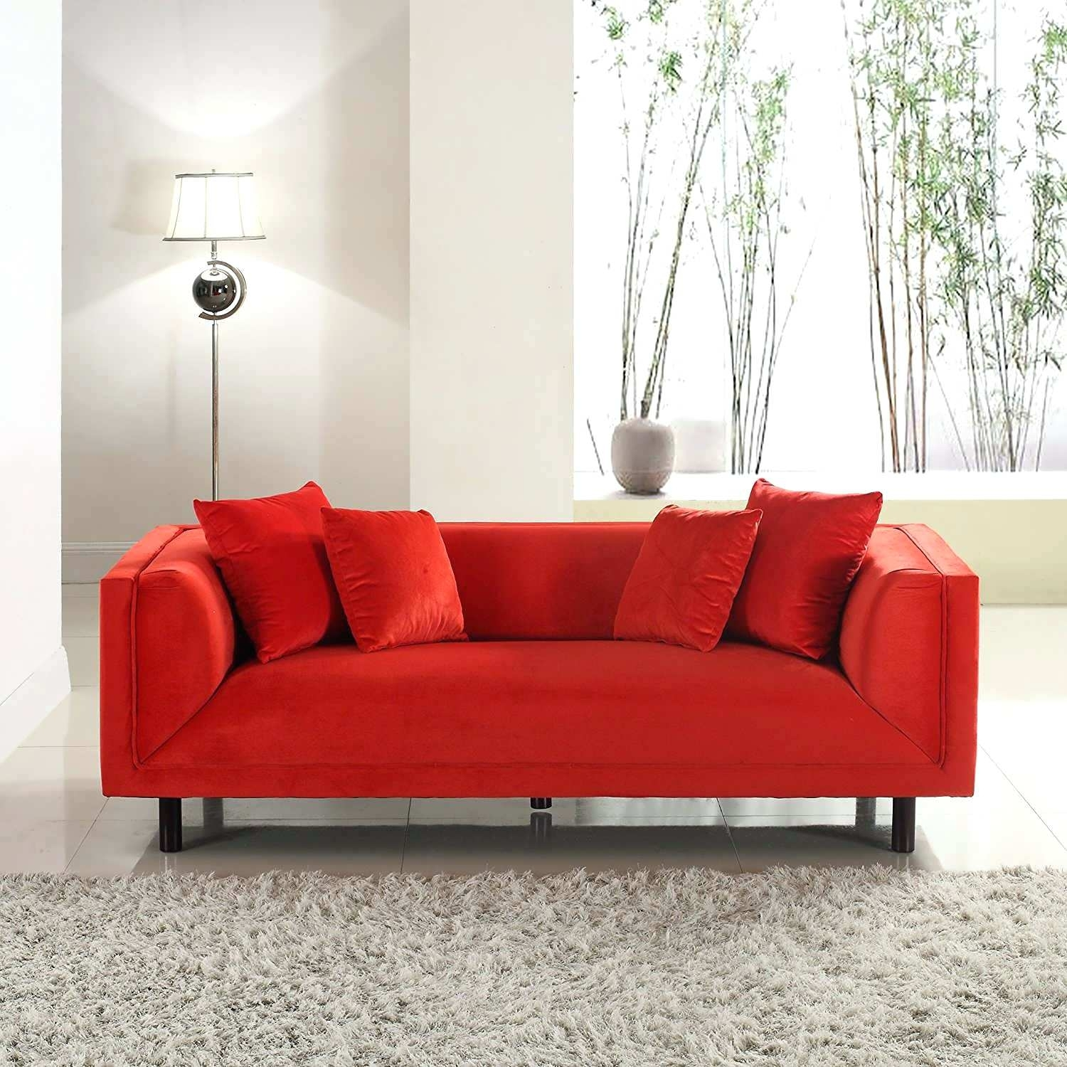 Red Sectional Sofas Faux Leather Sofa Cheap Sectionals Value City for Red Faux Leather Sectionals (Image 9 of 15)
