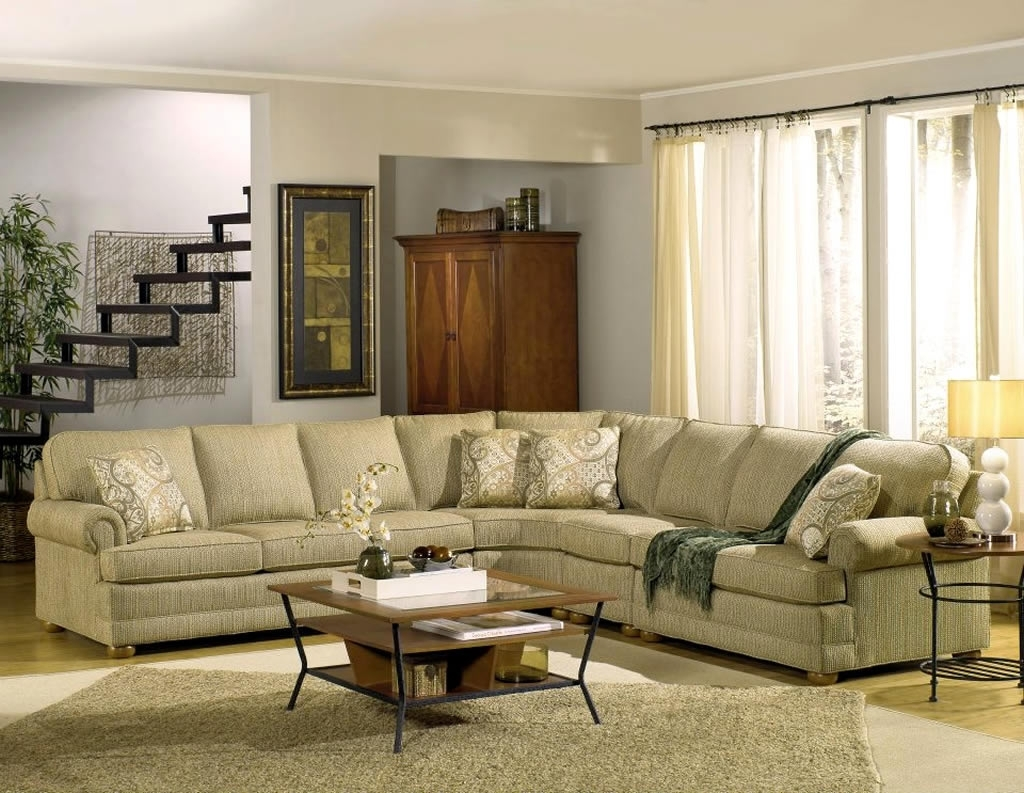 Residential Interior Design With Tailor Made Sectional Sofa pertaining to Made in North Carolina Sectional Sofas (Image 5 of 10)