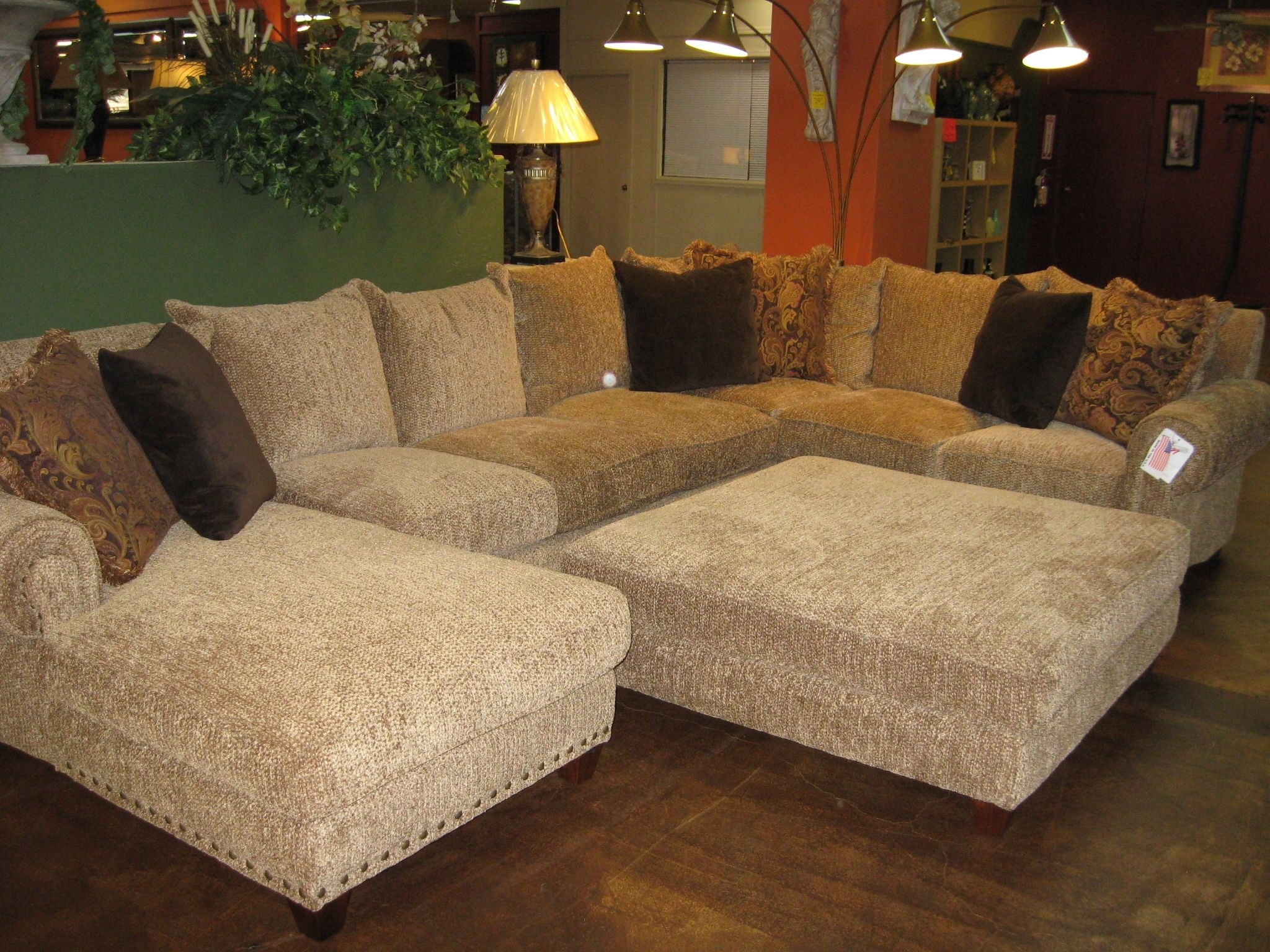 Robert Michael Rocky Mountain Sectional | Rocky Mountain In Mammoth Inside Sectionals With Oversized Ottoman (View 9 of 15)