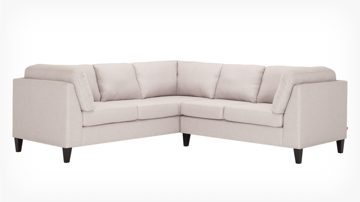 Salema 2 Piece Sectional Sofa Polo Grey Front 02 | Decoration In Eq3 Sectional Sofas (View 9 of 10)