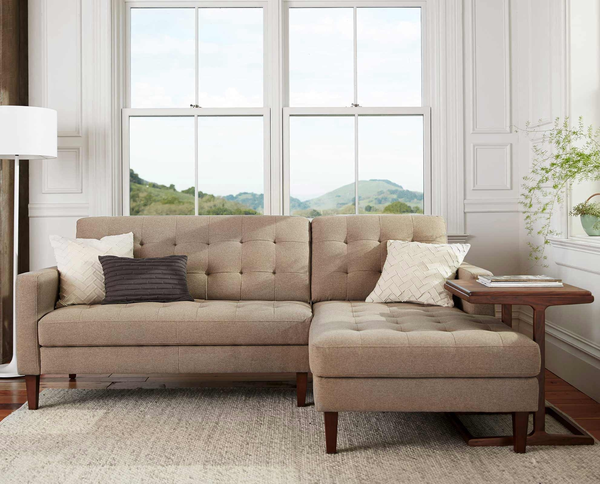 Scandinavian Designs - Create A Relaxing Aesthetic With The Camilla with Dania Sectional Sofas (Image 7 of 10)