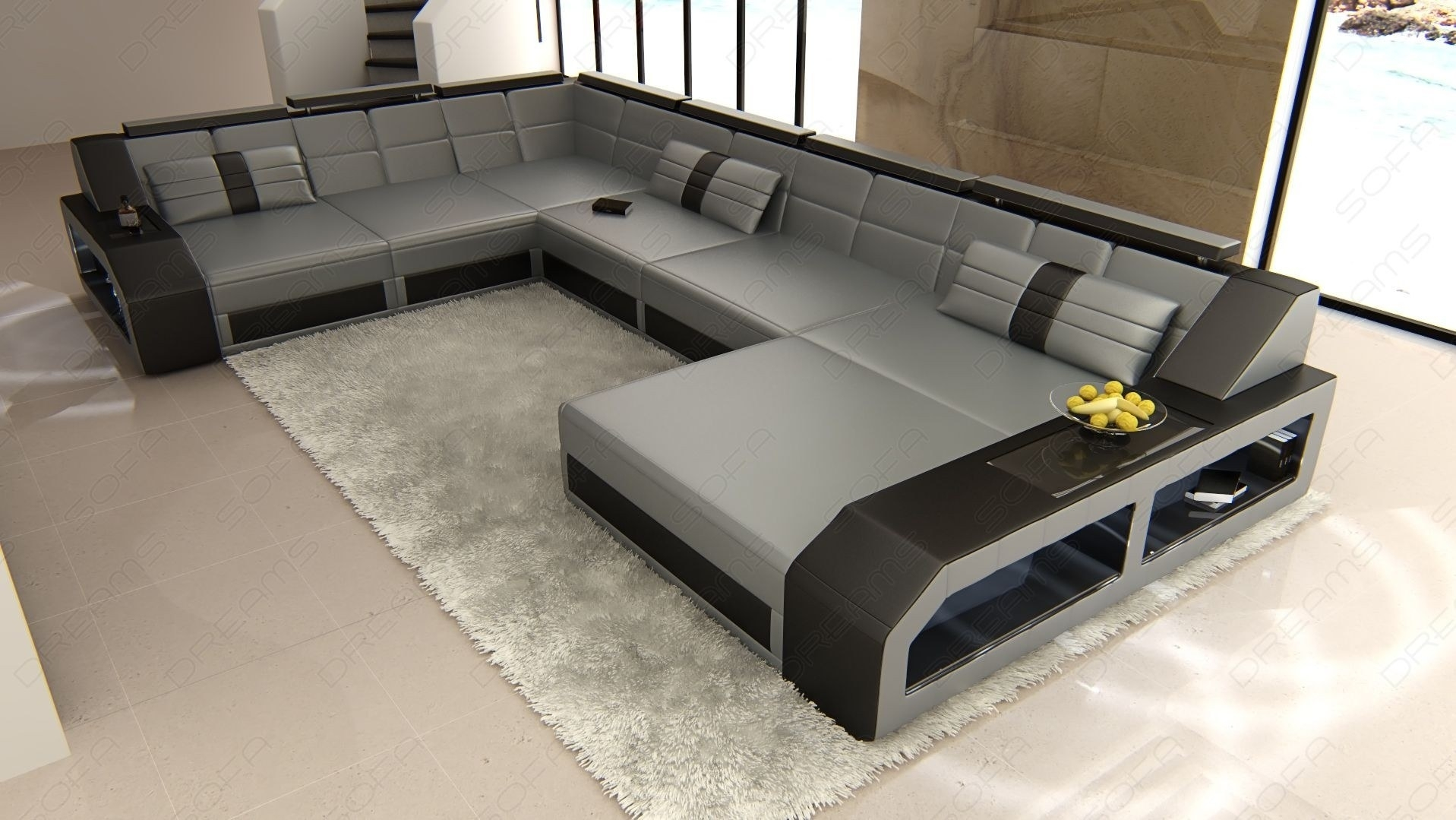 Sectional Leather Sofa Houston Xl Pertaining To Houston Sectional Sofas (View 9 of 10)