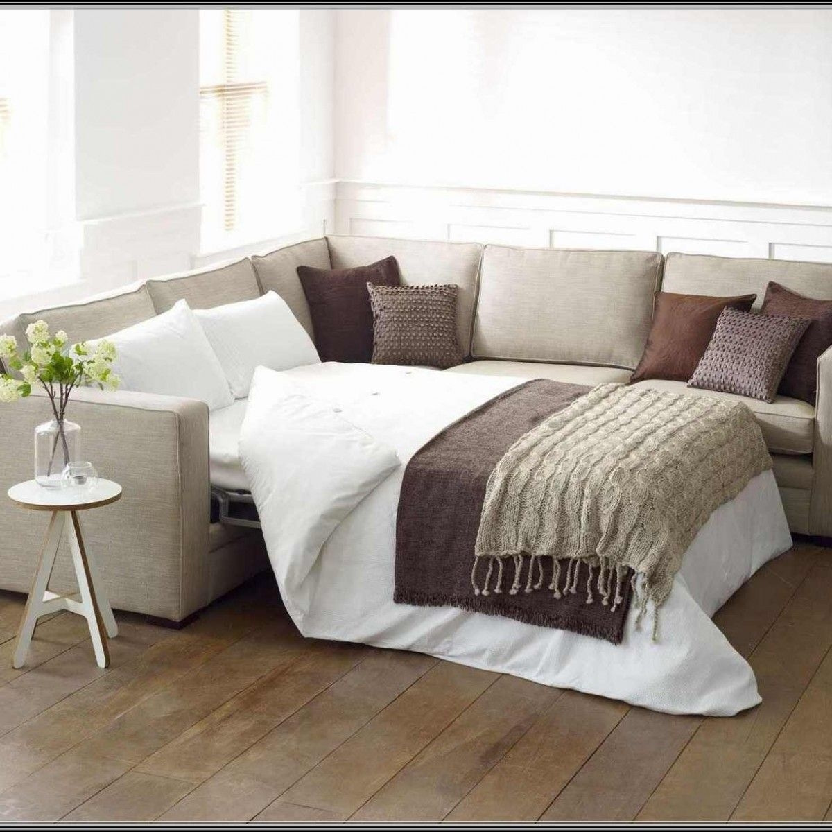 Sectional Sleeper Sofas For Small Spaces Important Aspects | Our for Sectional Sofas With Queen Size Sleeper (Image 5 of 10)