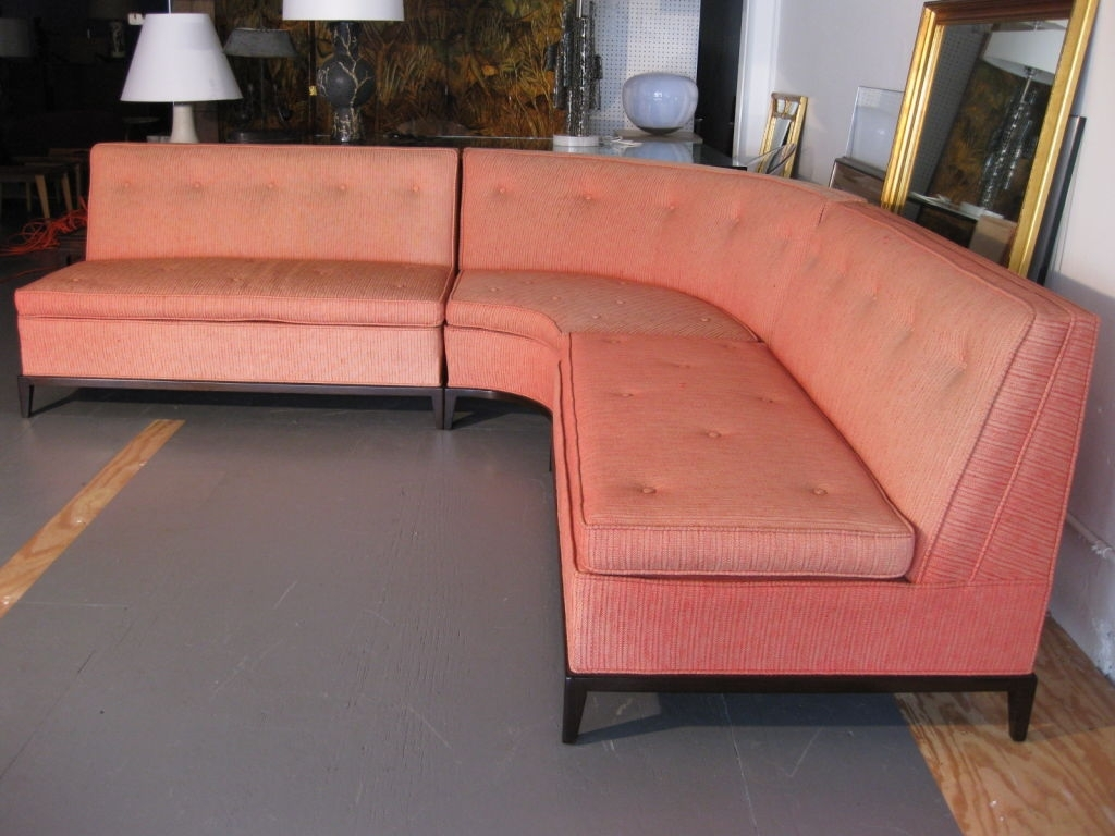 Sectional Sofa : 2 Piece Curved Sectional Curved Couch Sectional in Rounded Corner Sectional Sofas (Image 5 of 10)