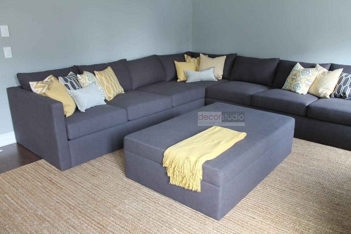 Sectional Sofa Design: Customized Sectional Sofa Furniture Custom throughout Customizable Sectional Sofas (Image 13 of 15)