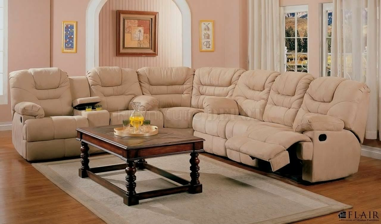 Sectional Sofa Design: Recliner Sectional Sofas Microfiber Clearance Regarding Sectional Sofas With Recliners (View 12 of 15)