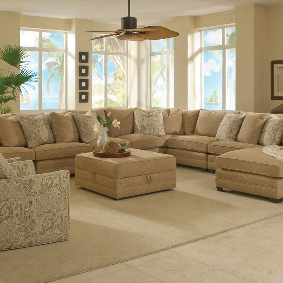 Sectional Sofa: Great Extra Large Sectional Sofas With Chaise Extra throughout Extra Large U Shaped Sectionals (Image 14 of 15)