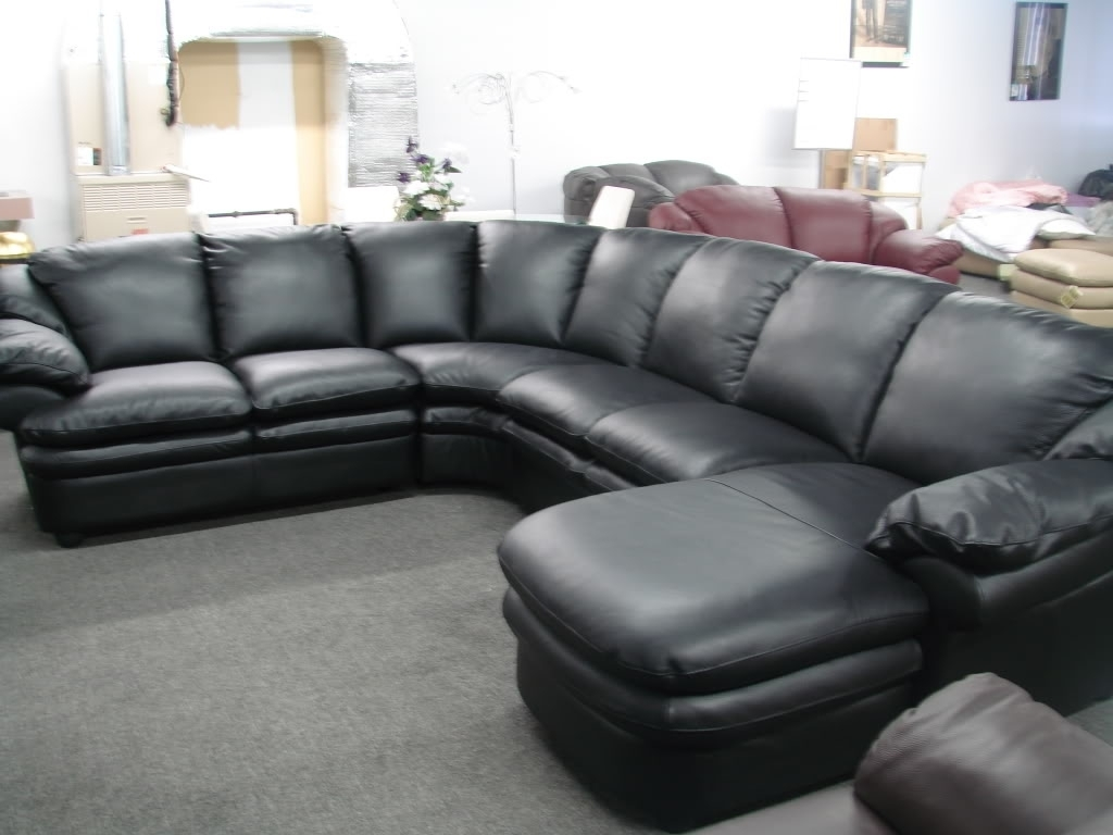 Sectional Sofa : Leather Sectional With Chaise Lounge Microfiber pertaining to On Sale Sectional Sofas (Image 5 of 10)