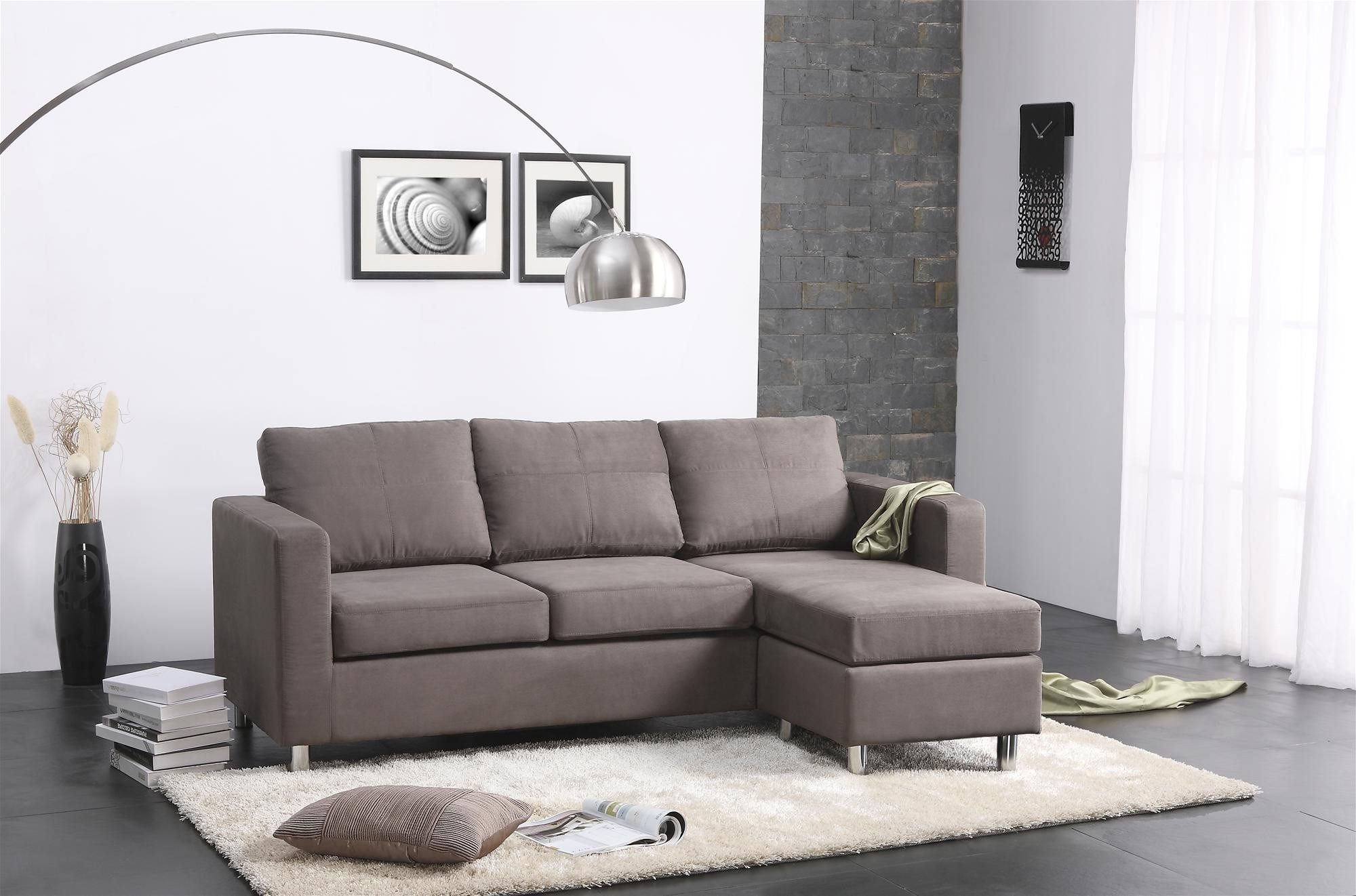 Sectional Sofa : Round Settee Room Sofa Round Leather Sectional Sofa For Sectional Sofas For Small Spaces (View 9 of 15)