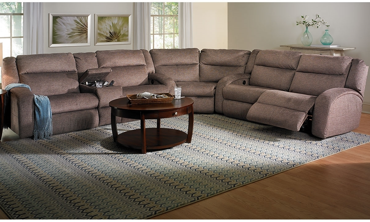 Sectional Sofa : Sectional Sofa With Chaise Blue Leather Sectional with regard to Sectional Sofas With Power Recliners (Image 8 of 10)