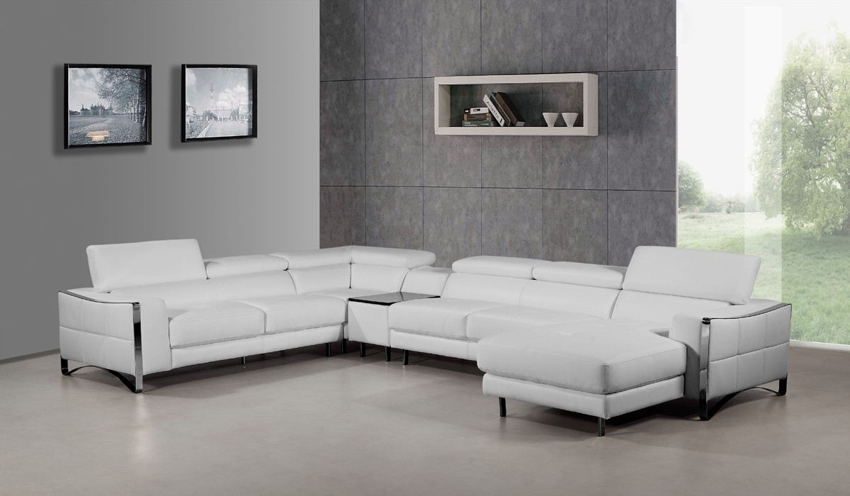 Sectional Sofa : Smalls~1 Faux Leather Sectional Couch for Red Faux Leather Sectionals (Image 10 of 15)