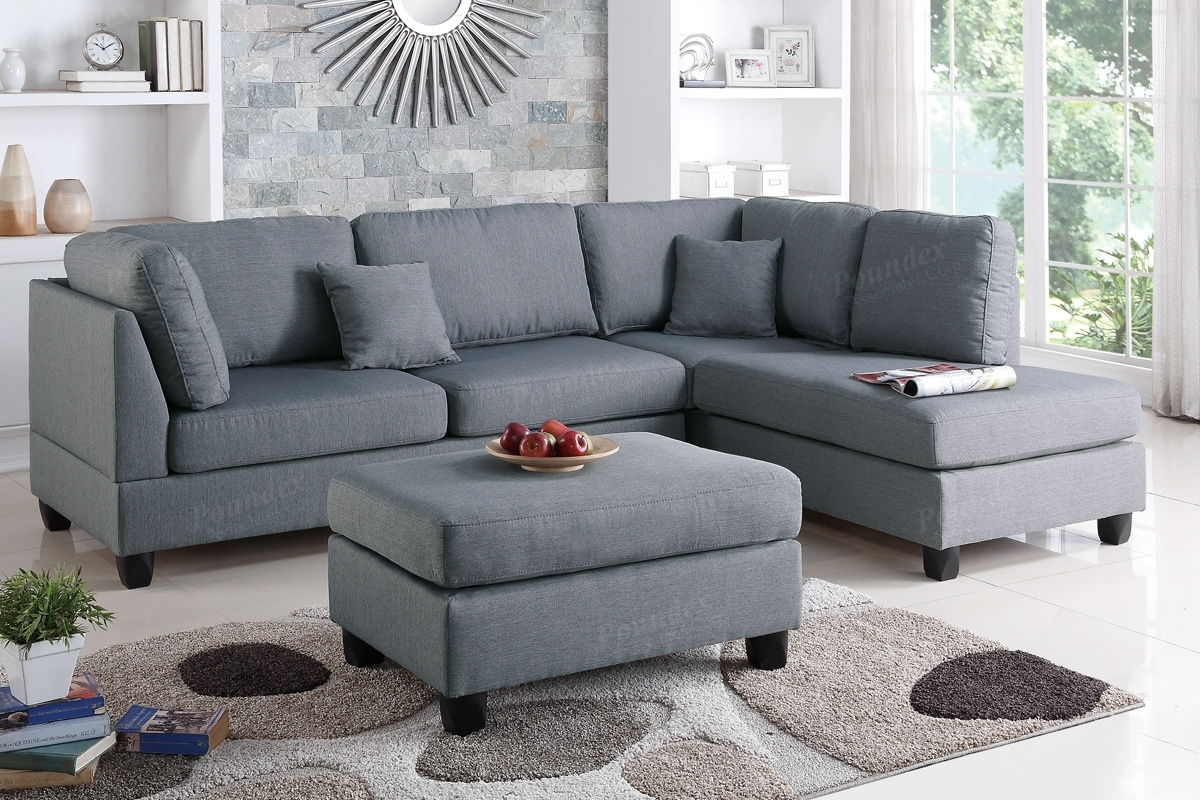 Sectional Sofa W/ Ottoman (F7606) | Bb's Furniture Store Intended For Sectional Sofas With Ottoman (View 14 of 15)