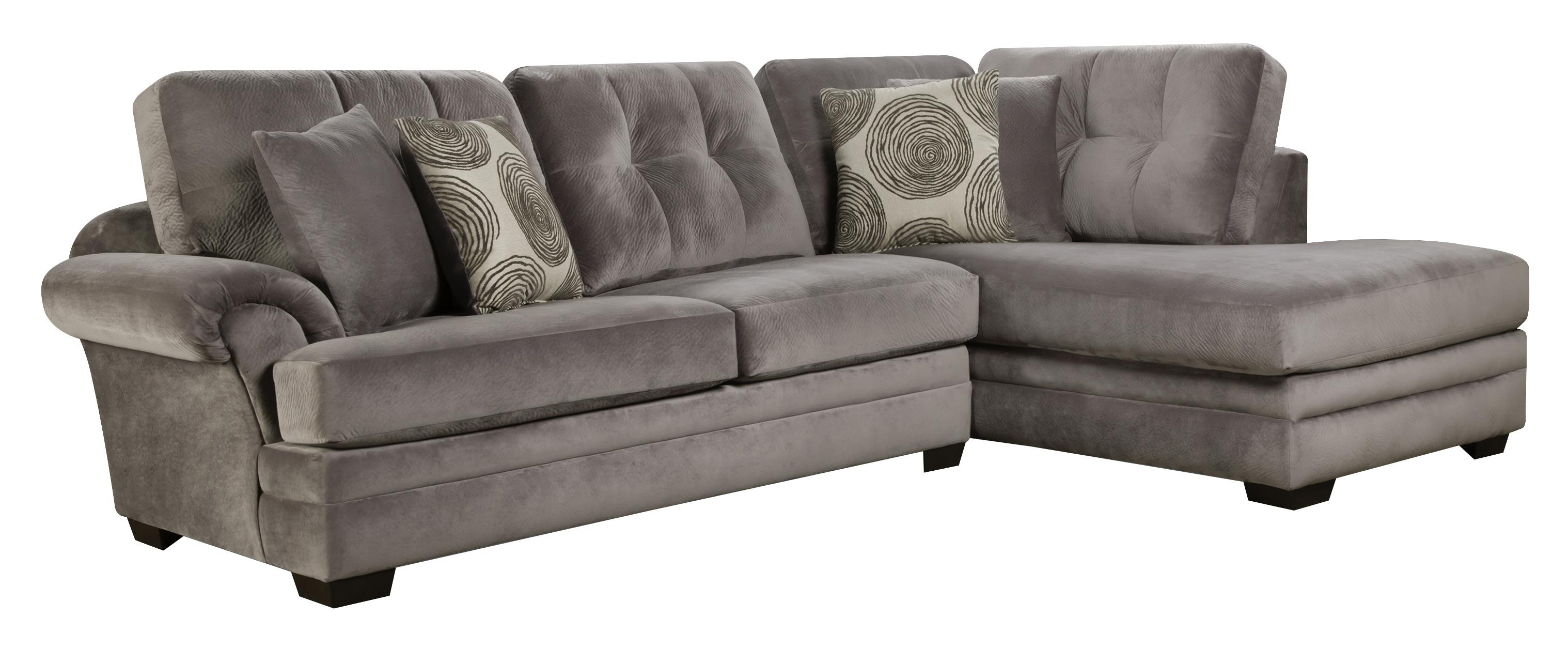 Sectional Sofa With Chaise (on Right Side)corinthian | Wolf And In Gardiners Sectional Sofas (View 2 of 10)