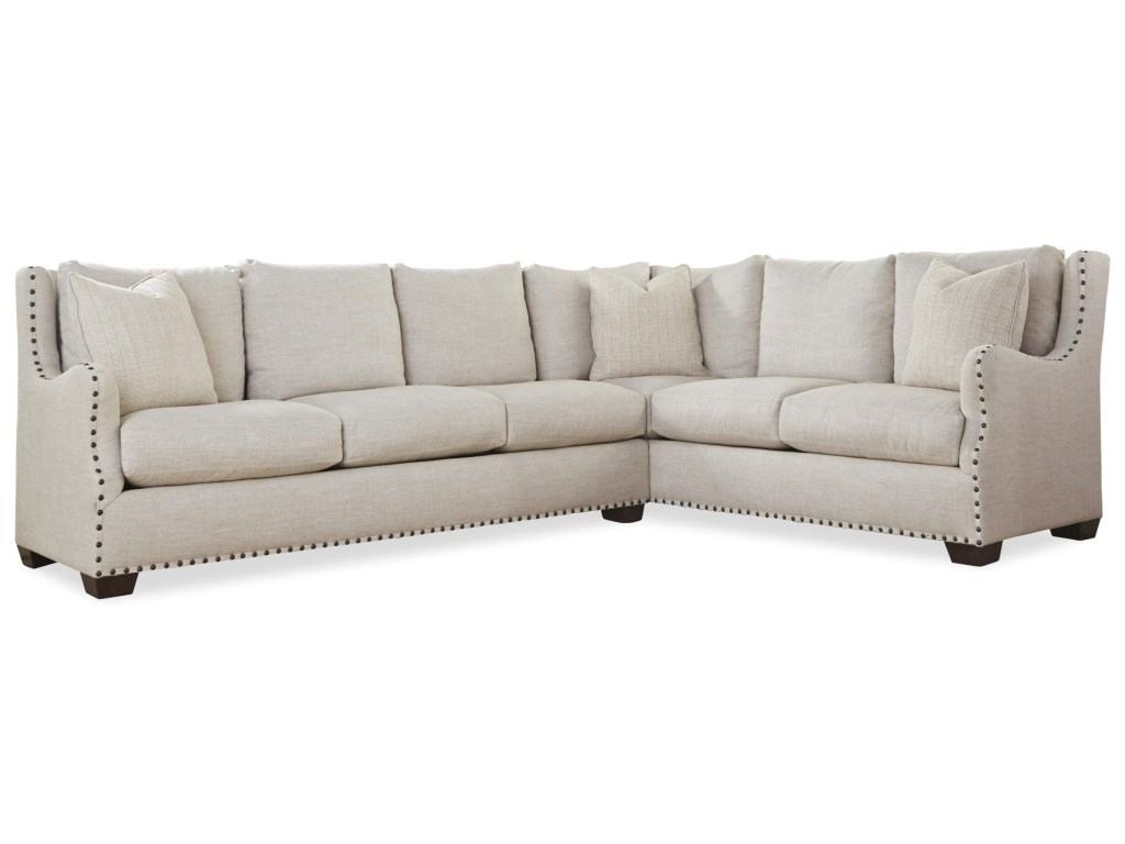 Sectional Sofa With Nailhead Trim Regarding Universal Connor Intended For Sectional Sofas With Nailheads (View 8 of 10)