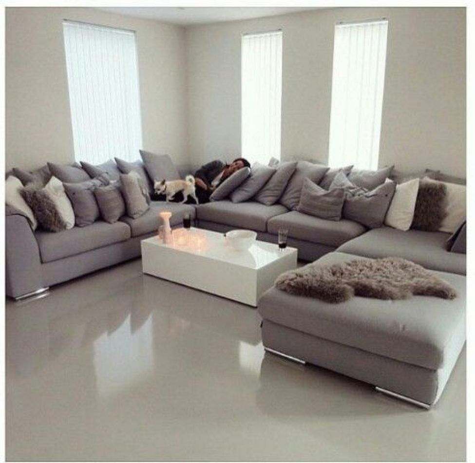 Sectional Sofas: Best 25 U Shaped Sofa Ideas On Pinterest | U Shaped pertaining to Large U Shaped Sectionals (Image 11 of 15)