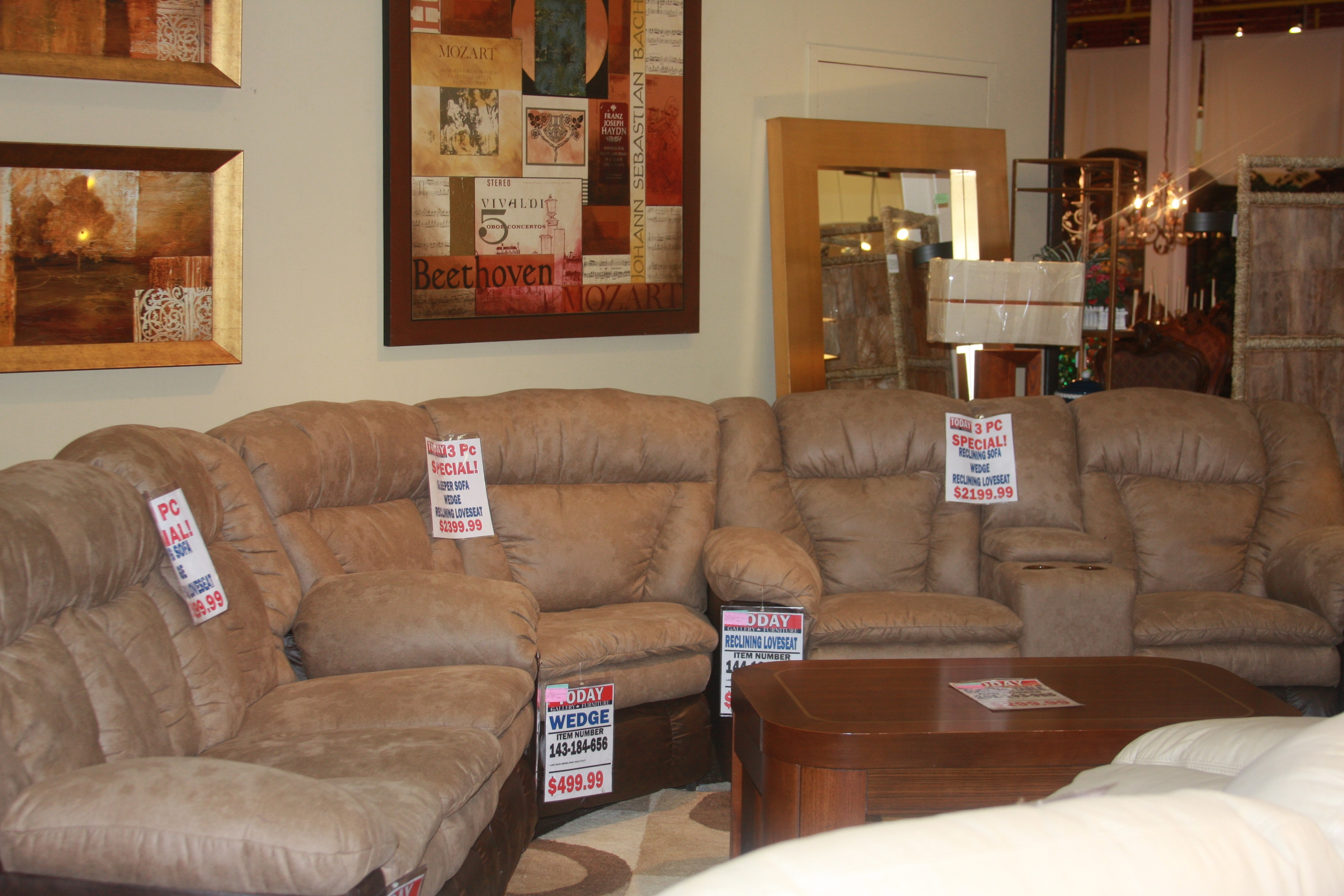 Featured Photo of Houston Sectional Sofas
