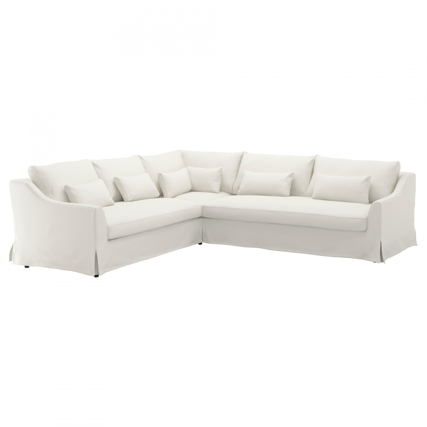 Sectional Sofas - Ikea With Regard To White Sectional Sofa Fabric intended for Sectional Sofas at Ikea (Image 12 of 15)