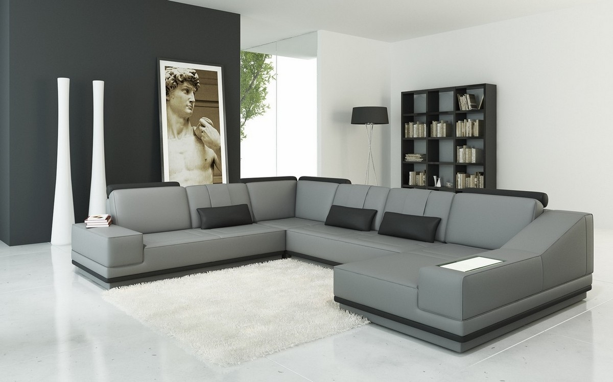 Sectional Sofas - Modern Home Concept with Modern U Shaped Sectionals (Image 8 of 15)