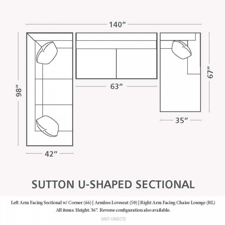 Sectional Sofas Sizes For Sectional Sofas By Size (View 14 of 15)