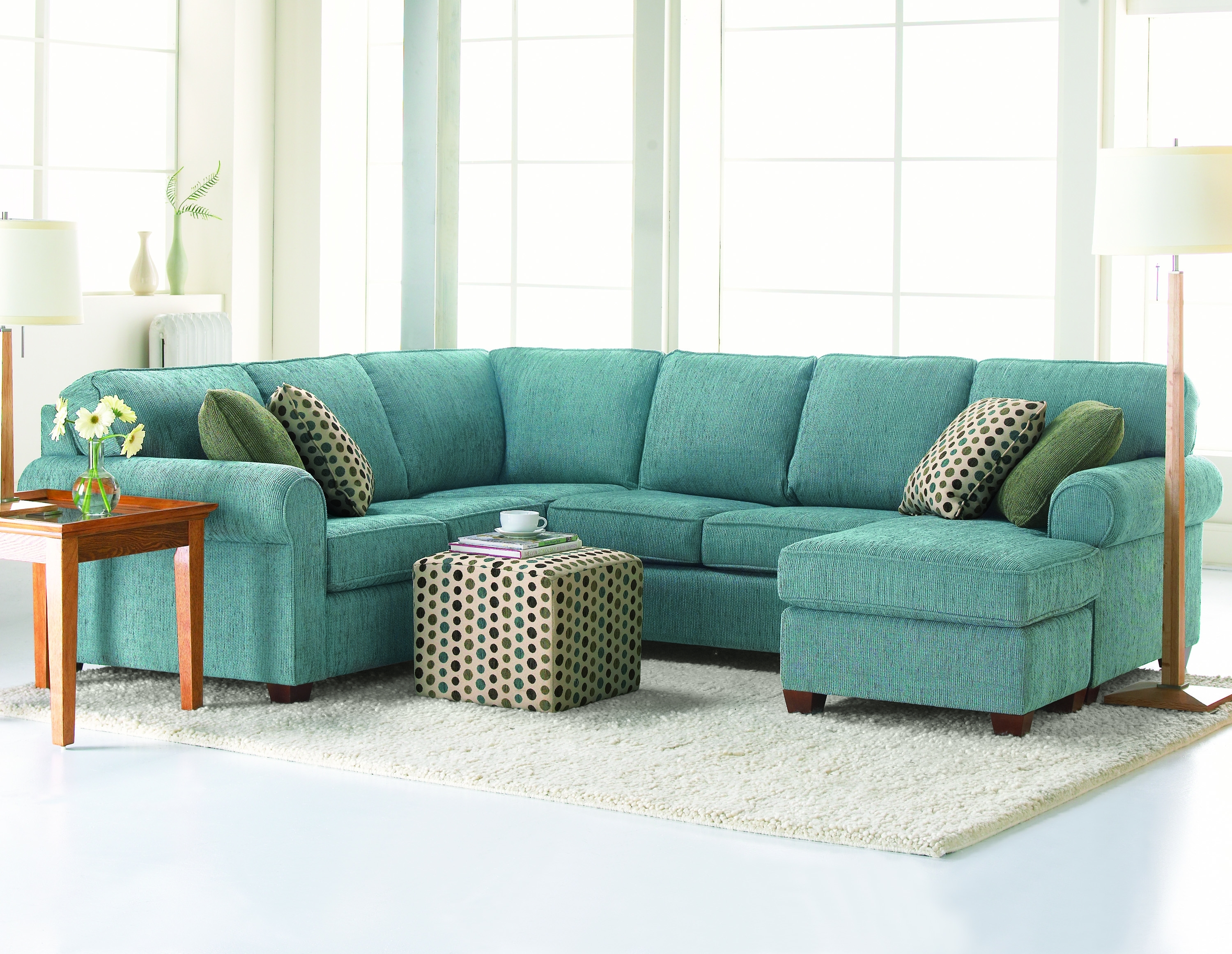 Sectional Sofas - Thompson Brothers Furniture within Ontario Canada Sectional Sofas (Image 9 of 10)