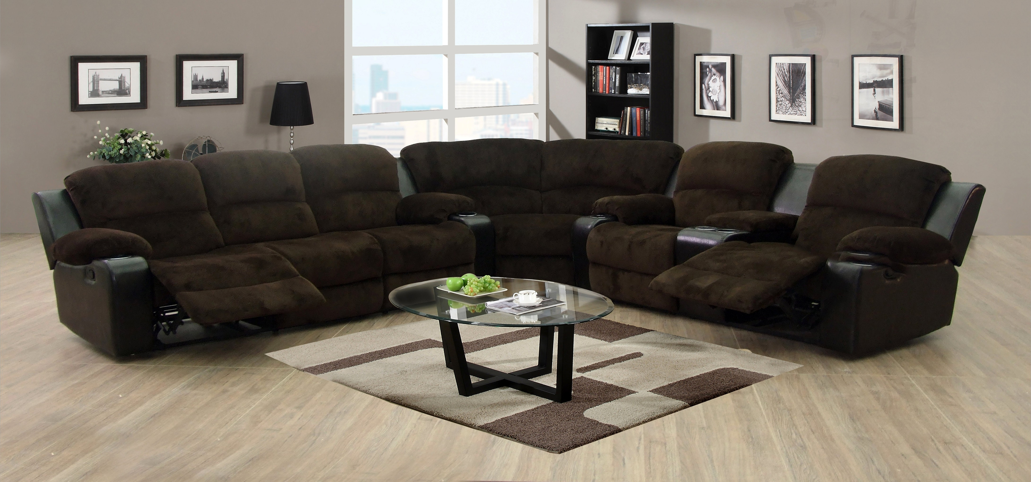 Sectional Sofas With Recliners And Cup Holders | Jannamo in Sectional Sofas With Cup Holders (Image 8 of 10)