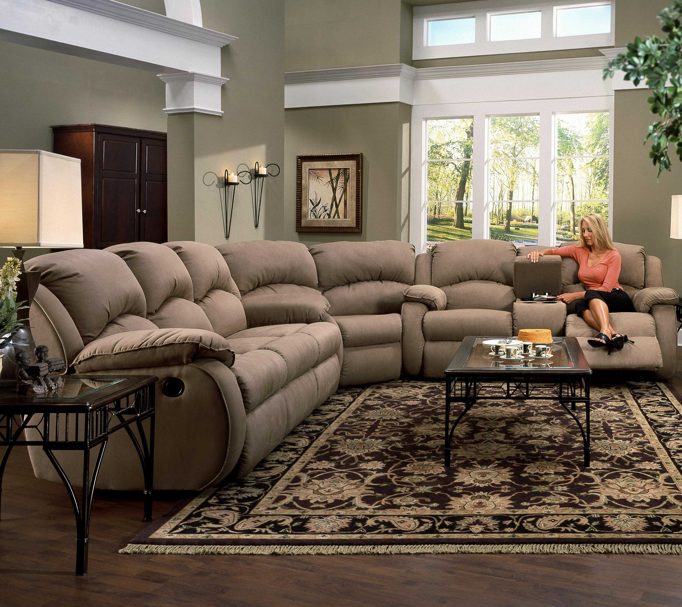 Sectional Sofas With Recliners And Cup Holders Sofa Set Clearance in Sectional Sofas With Cup Holders (Image 7 of 10)