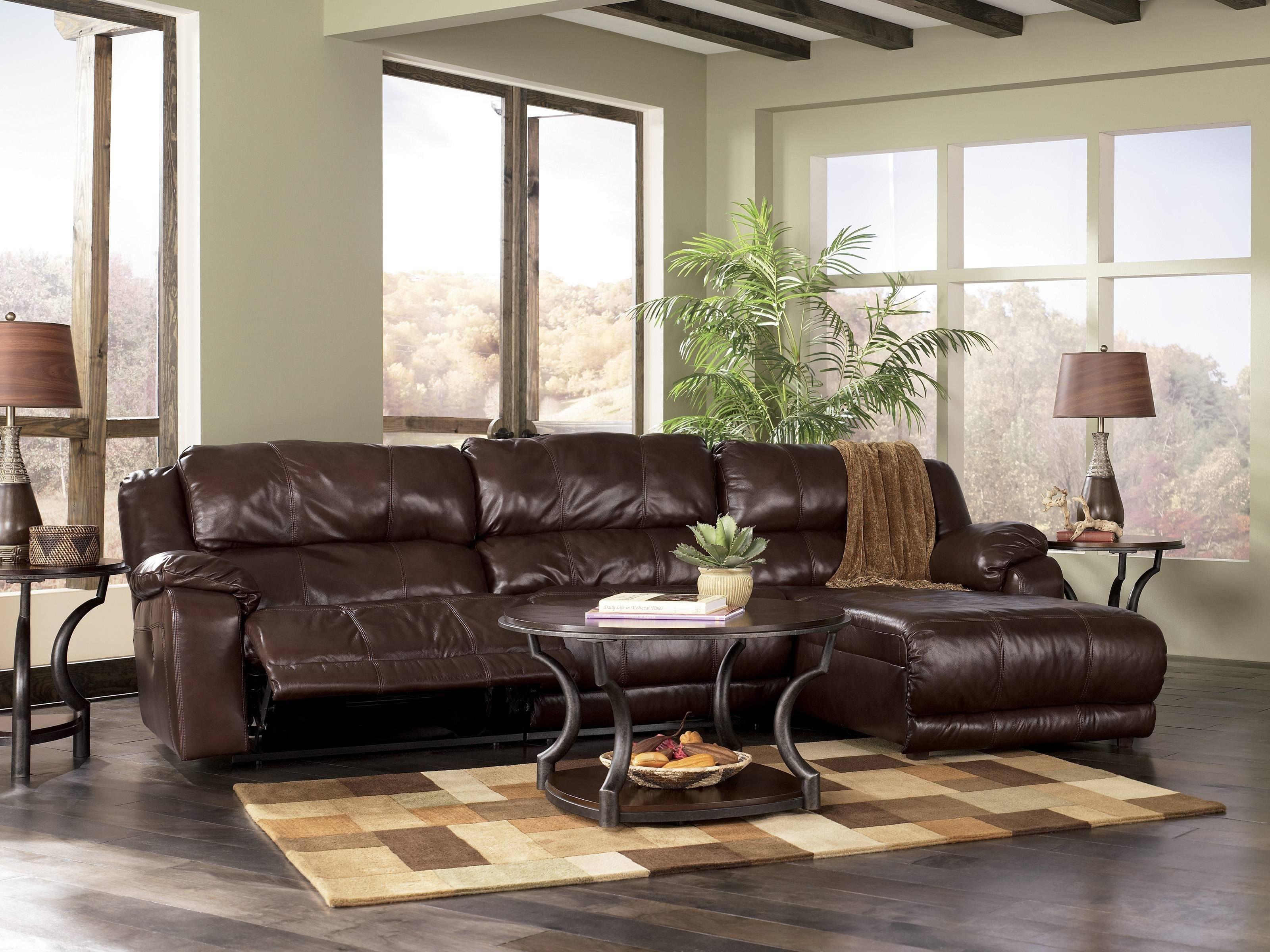 Sectional Sofas With Recliners | Johnson Leather Sofa With Recliner with Johnson City Tn Sectional Sofas (Image 8 of 10)