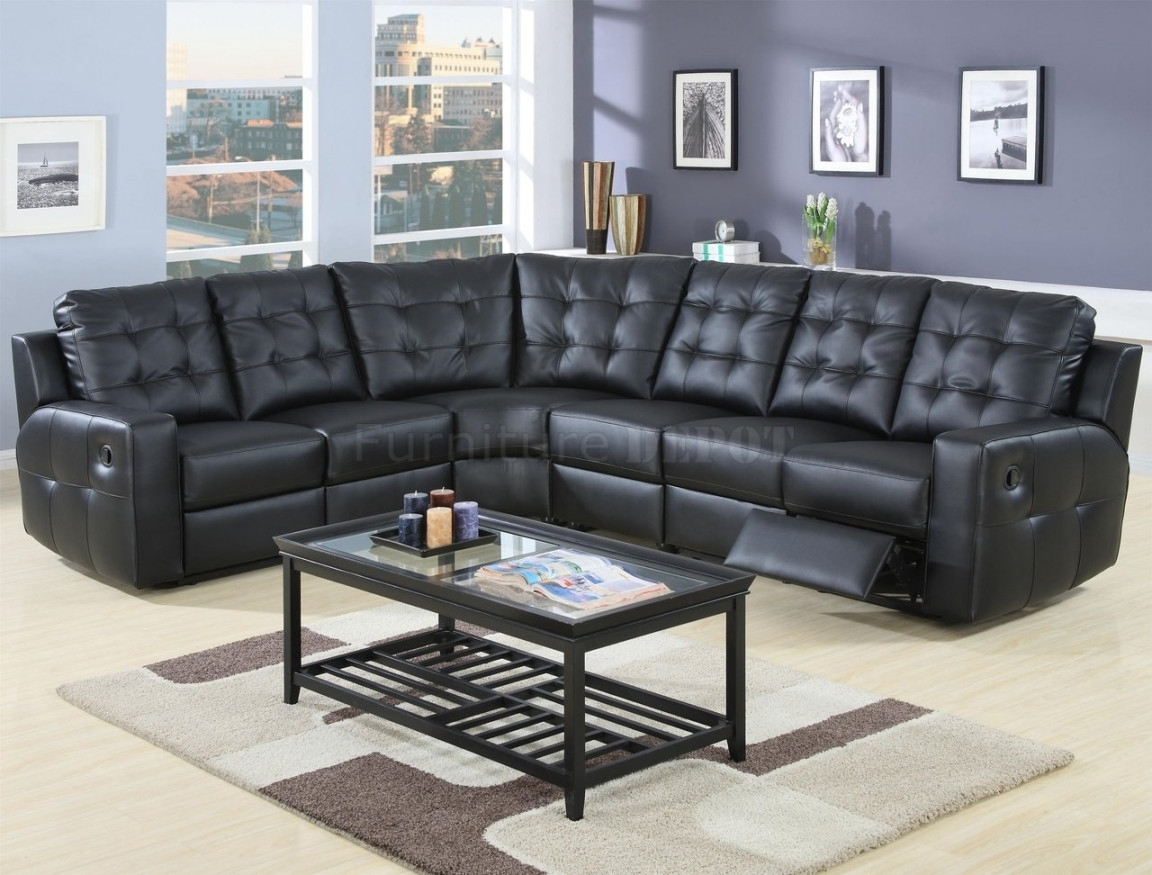 Sectional Sofas With Recliners Leather | Home Design And Decorating For Sectional Sofas With Recliners Leather (View 9 of 10)