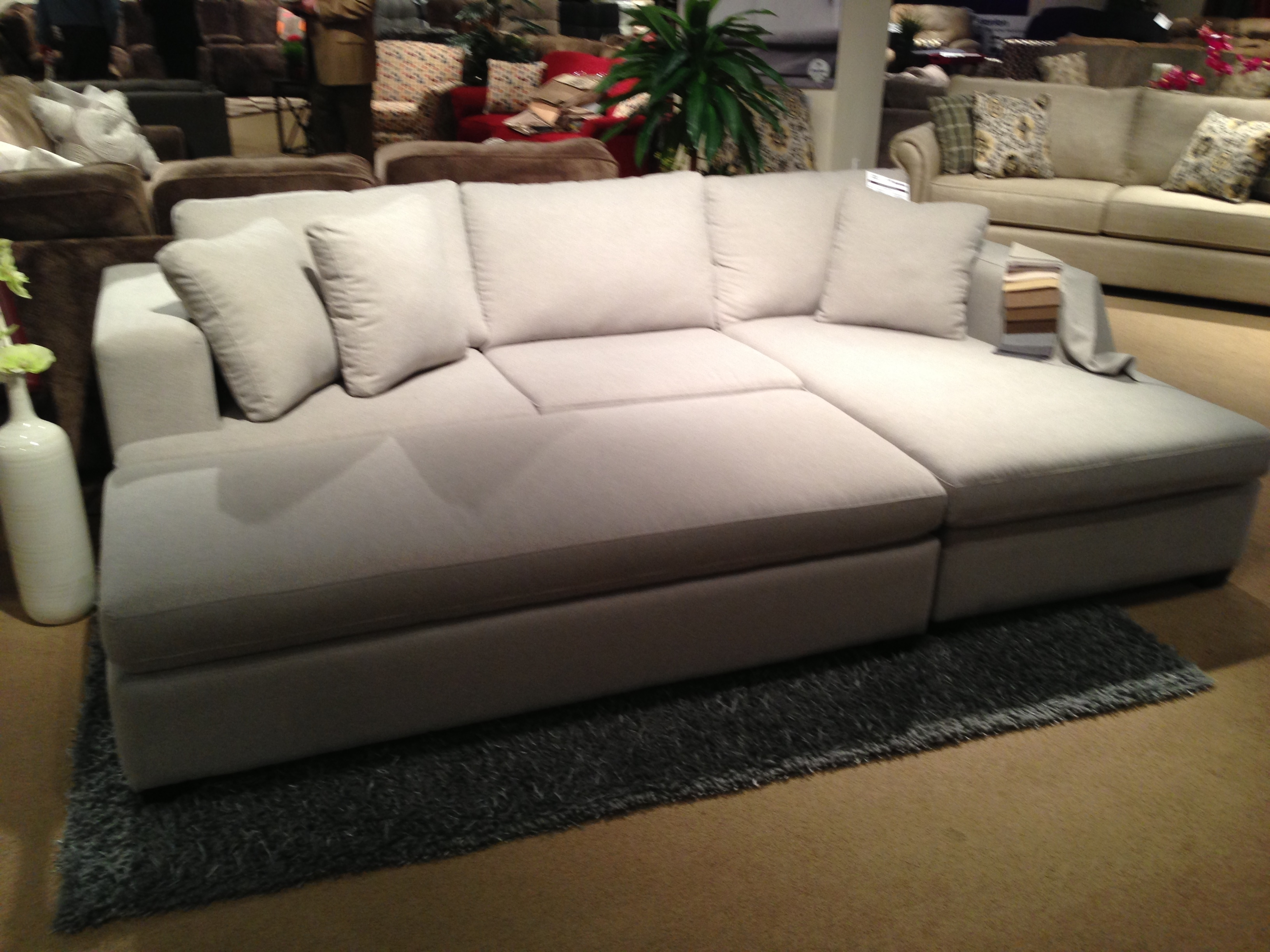 Sectional | Tweetalk Within Cheap Sectionals With Ottoman (View 15 of 15)