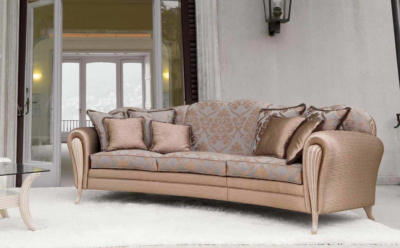 Semicircular Sofa / Classic / Fabric / 3-Seater - Ikarus-Ring - Pigoli pertaining to Classic Sofas (Image 9 of 10)