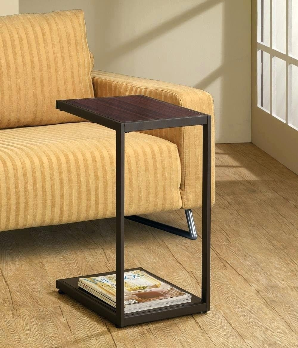 Side Table ~ Side Drink Table Sofa Rooms Holder Side Drink Table for Sofas With Drink Tables (Image 8 of 10)