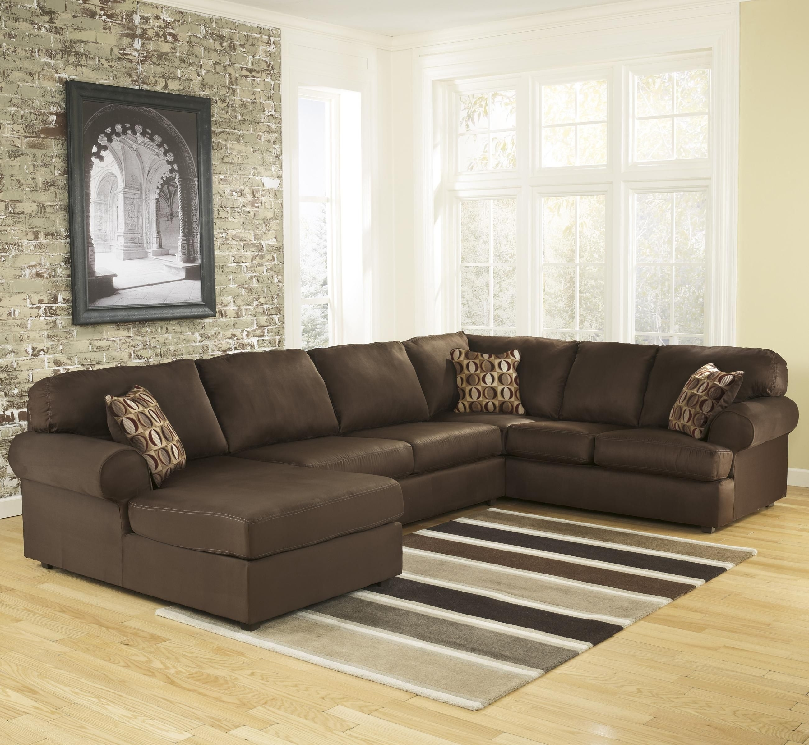 Signature Designashley Cowan - Cafe Roll Arm Left Facing Corner throughout Joplin Mo Sectional Sofas (Image 8 of 10)