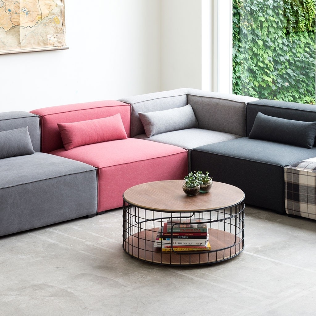 Small Corner Sectional Style — Cabinets, Beds, Sofas And throughout Small Modular Sectional Sofas (Image 8 of 10)