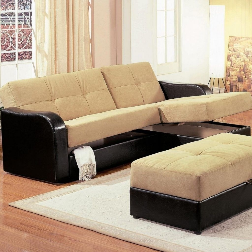 Small Sectional Sleeper Sofa Chaise | Http://tmidb | Pinterest With Regard To Small Sectional Sofas With Chaise And Ottoman (View 11 of 15)