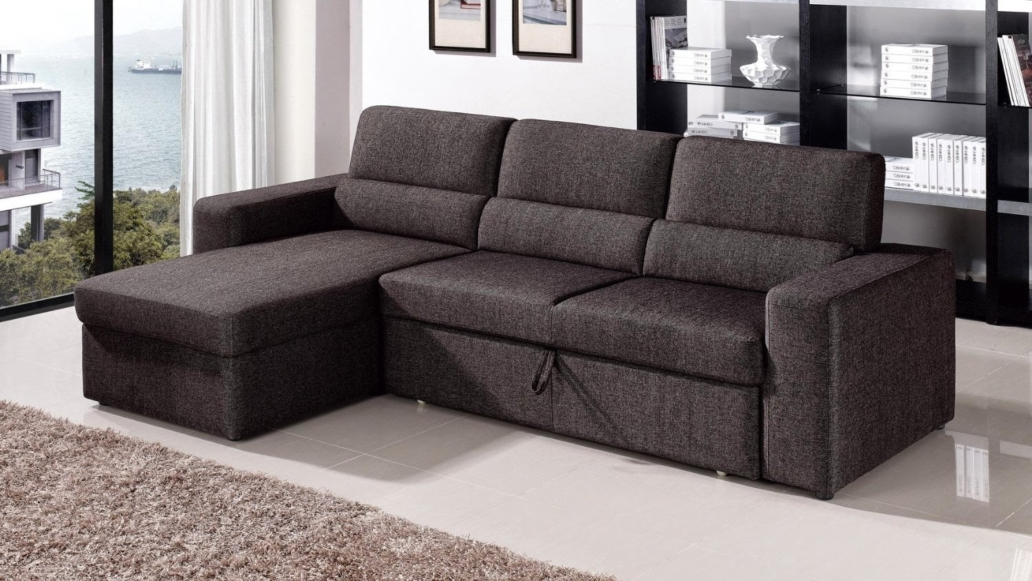 Small Sectional Sofa With Pull Out Bed • Sectional Sofa with regard to Pull Out Beds Sectional Sofas (Image 9 of 10)
