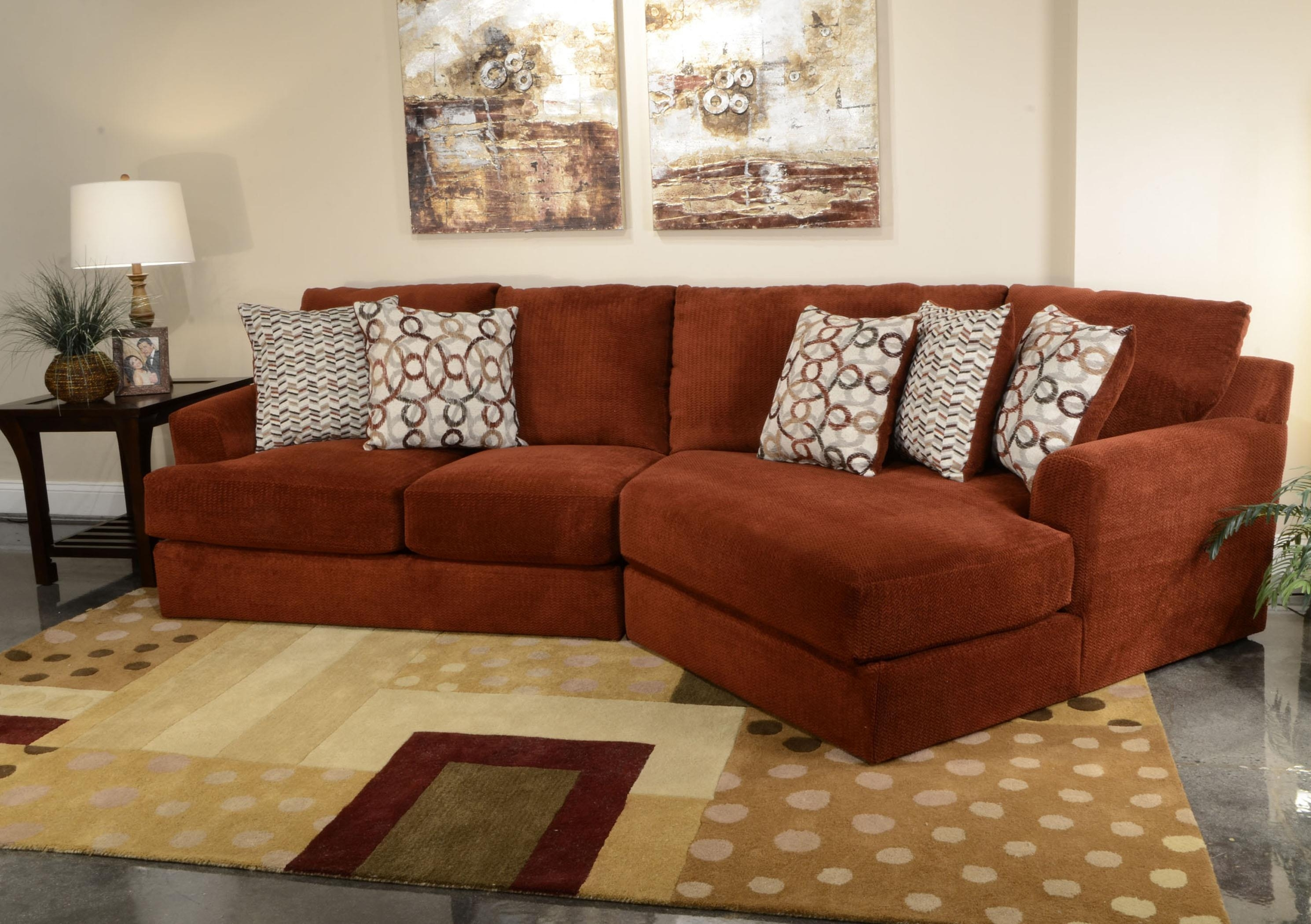 Small Three Seat Sectional Sofajackson Furniture | Wolf And in Jackson Tn Sectional Sofas (Image 9 of 10)