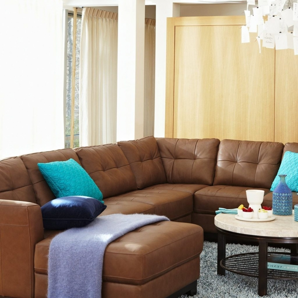 Sofa & Chair: Awesome Macys Leather Sectional Sofa Buildsimplehome for Macys Leather Sectional Sofas (Image 9 of 10)