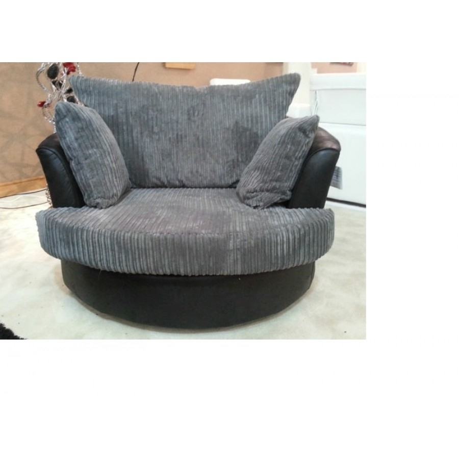 Sofa : Cheap Corner Sofa And Swivel Chair Large Round Swivel Chair Within Sofas With Swivel Chair (View 10 of 10)