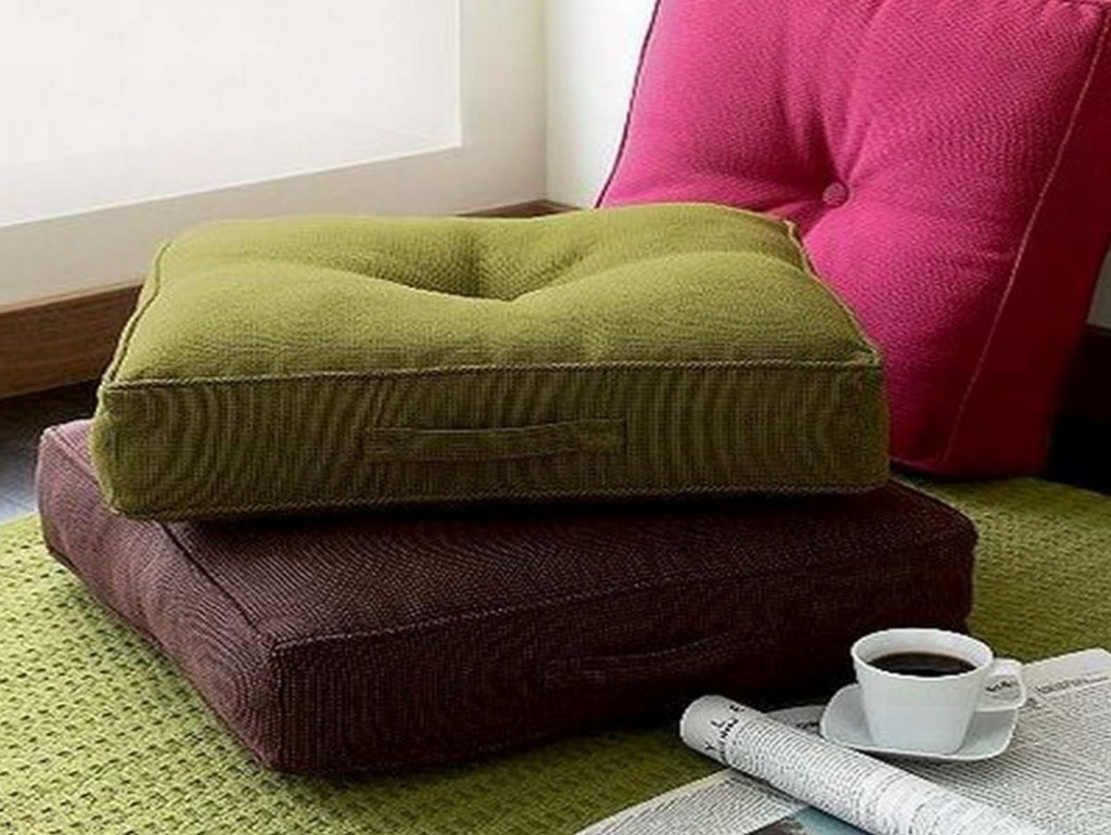 Sofa : Decorative Throw Pillow Covers Oversized Sofa Pillows Brown regarding Sofas With Oversized Pillows (Image 9 of 10)