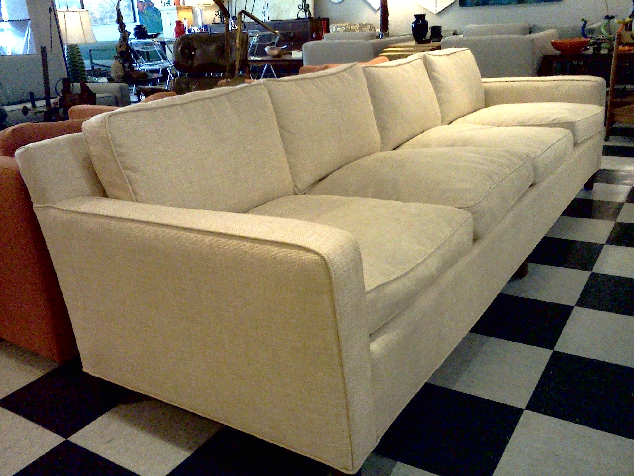 Sofa : Down Wrapped Sectional Sofa Red Sofa Rattan Sofa Moroccan With Down Filled Sofas (View 6 of 10)