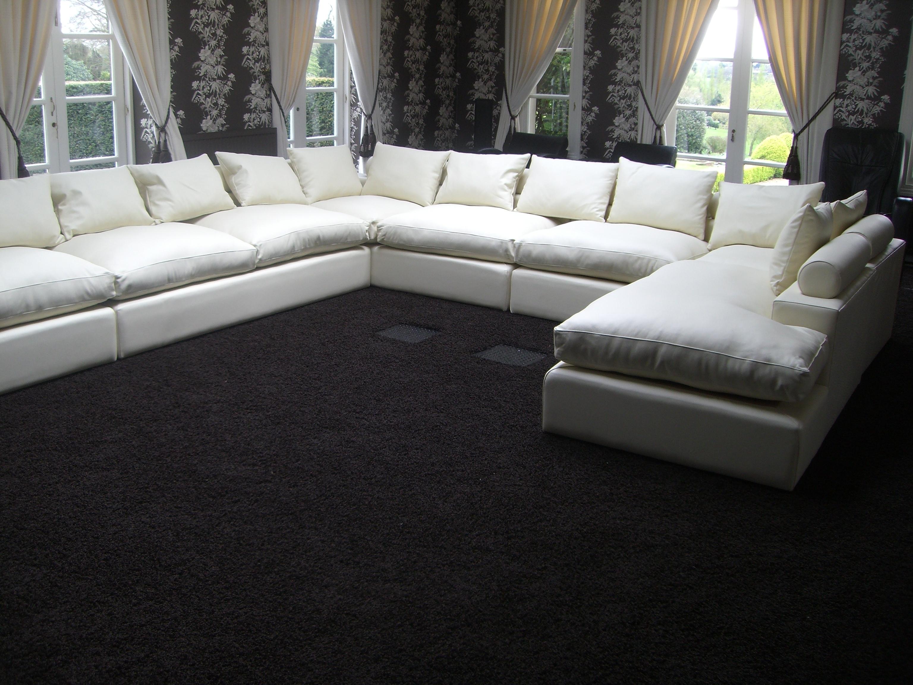 Sofa : Modern Sectional Sofas Leather Corner Sofa Tub Sofa Elegant with Modern U Shaped Sectionals (Image 9 of 15)