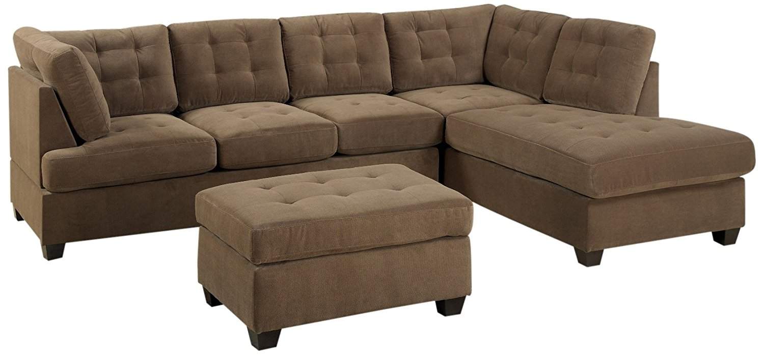 Sofa : Sleeper Sofa With Matching Reclining Loveseat White Loveseats Throughout Loveseats With Ottoman (Photo 4 of 15)