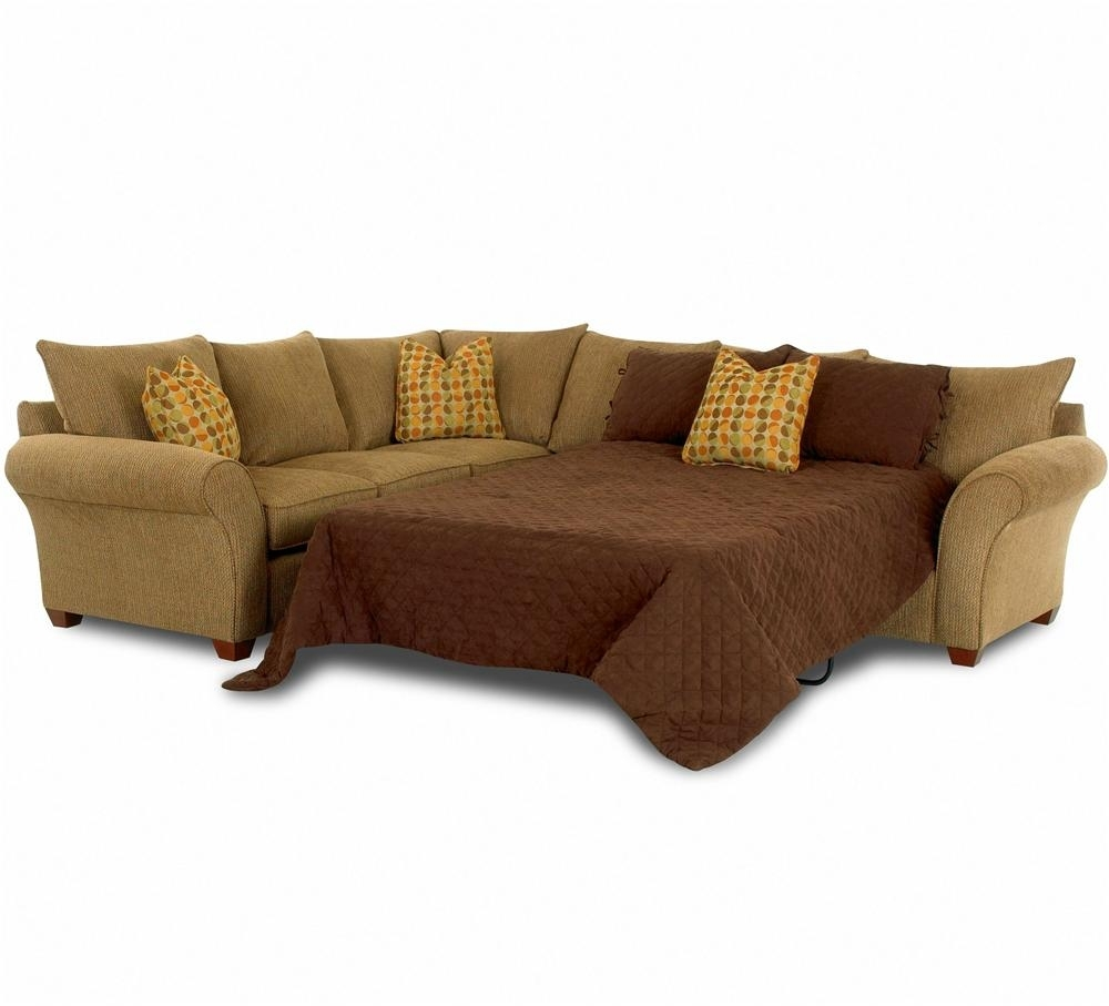 Sofa Sleeper Spacious Sectionalklaussner | Wolf And Gardiner Throughout Sectional Sofas With Sleeper (View 2 of 10)