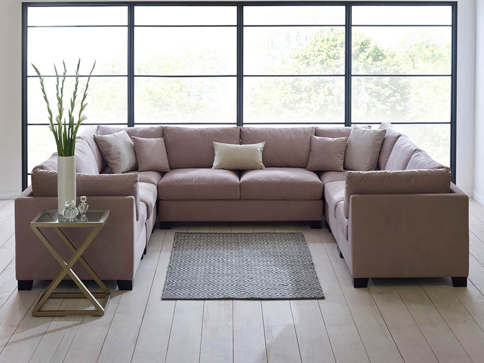 Sofa : U Shaped Modular Sofa Stylish Sofa Sectional Sofa Set Large Intended For Huge U Shaped Sectionals (View 7 of 15)