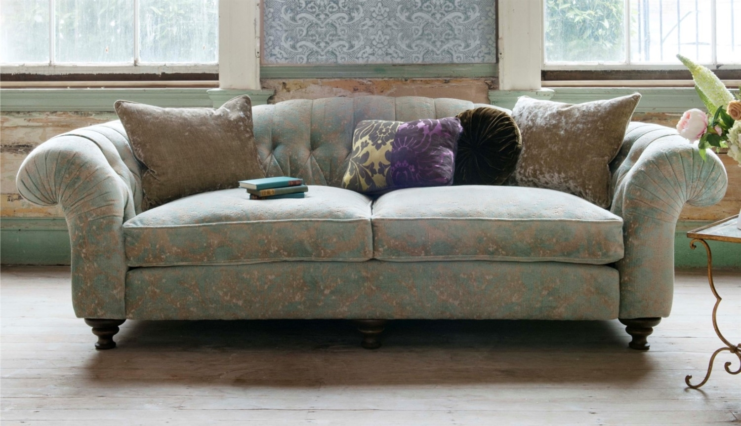 Sofas - Luxury Handcrafted British Fabric Sofas throughout Luxury Sofas (Image 10 of 10)