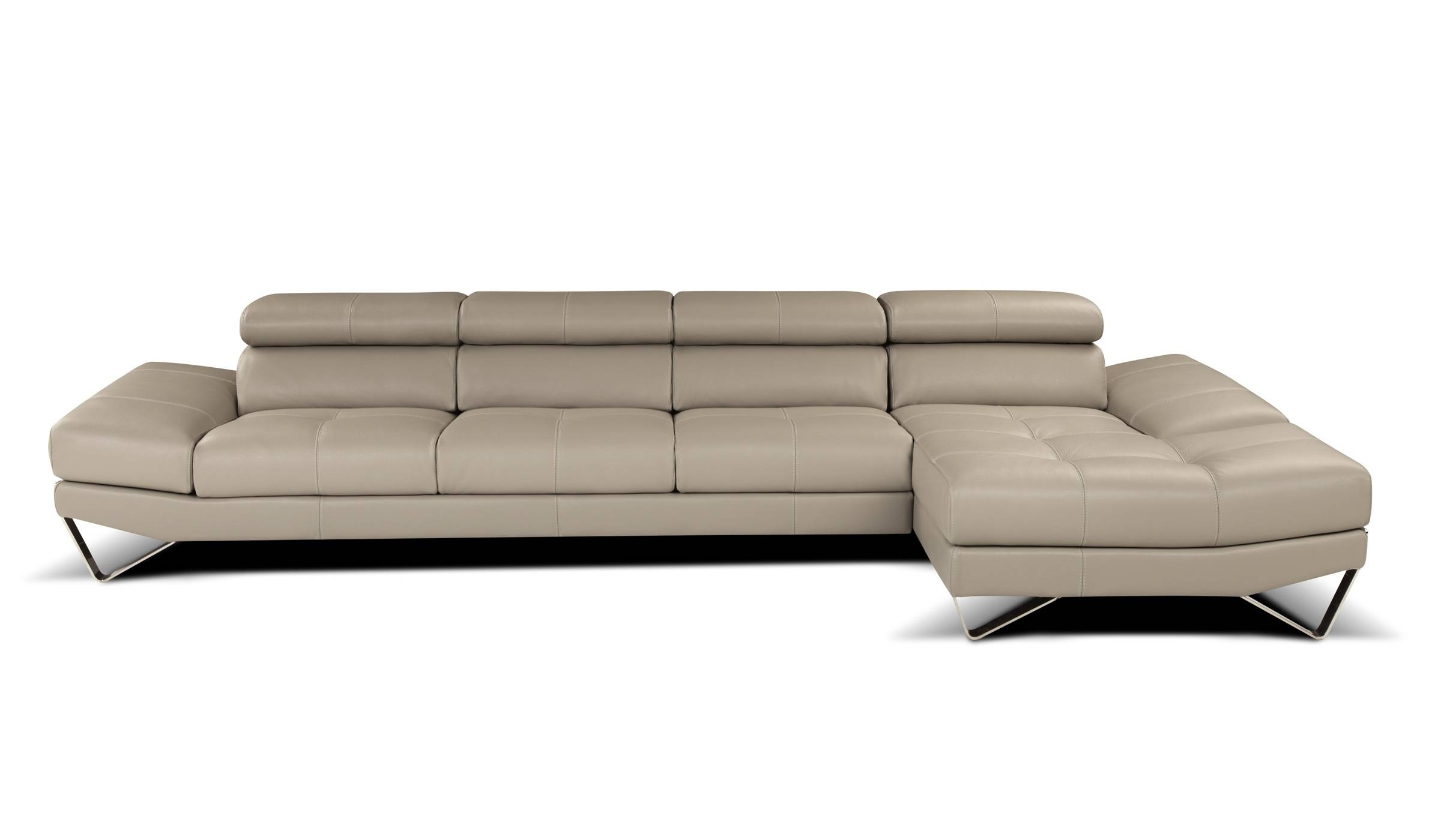 2019 Latest High End Leather Sectional Sofas